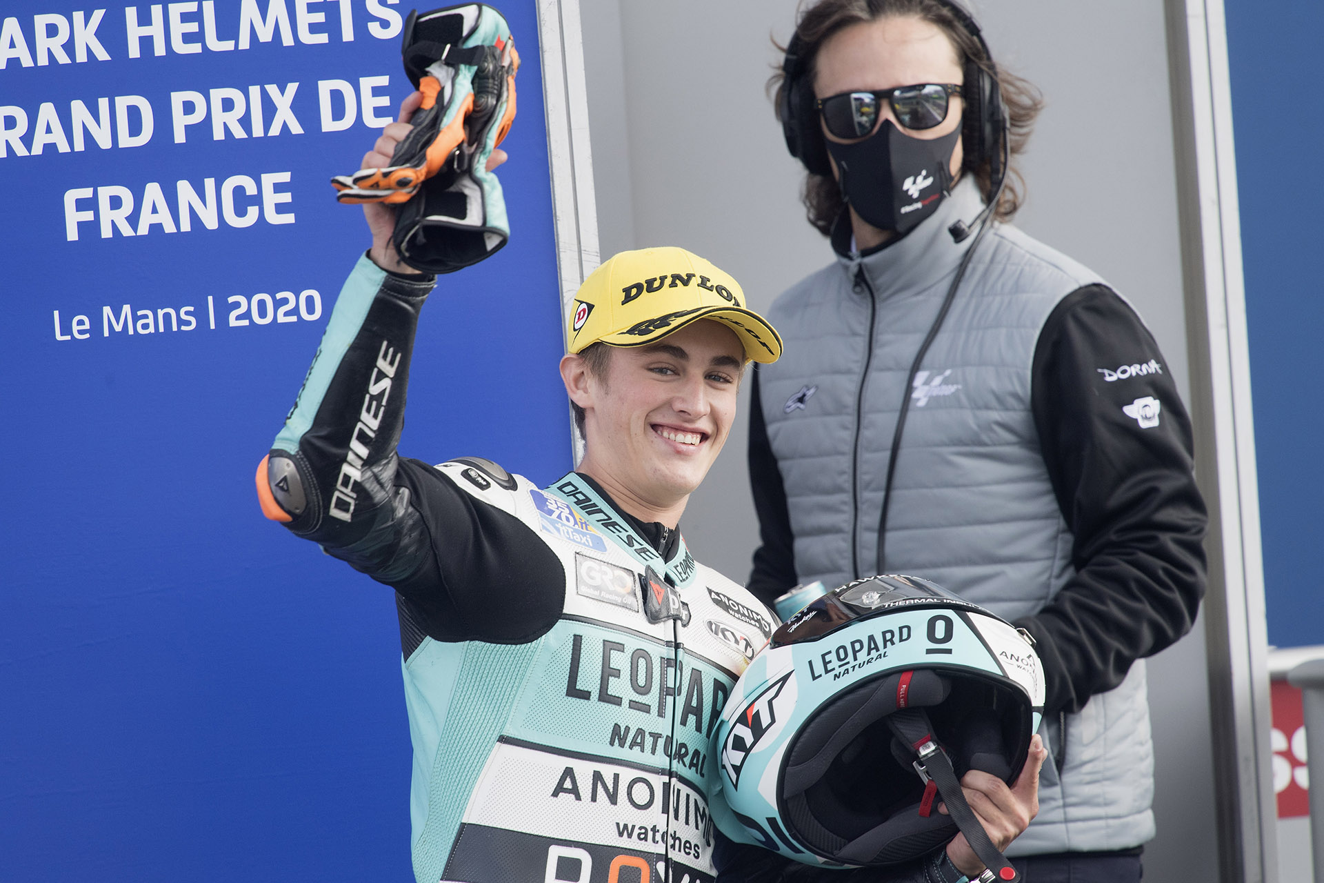 Jaume Masia takes pole position in Le Mans!